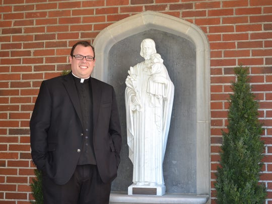 The Rev. Michael Roemmele has been spending his first