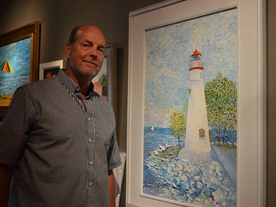 Ferguson finds inspiration in shoreline scenes such