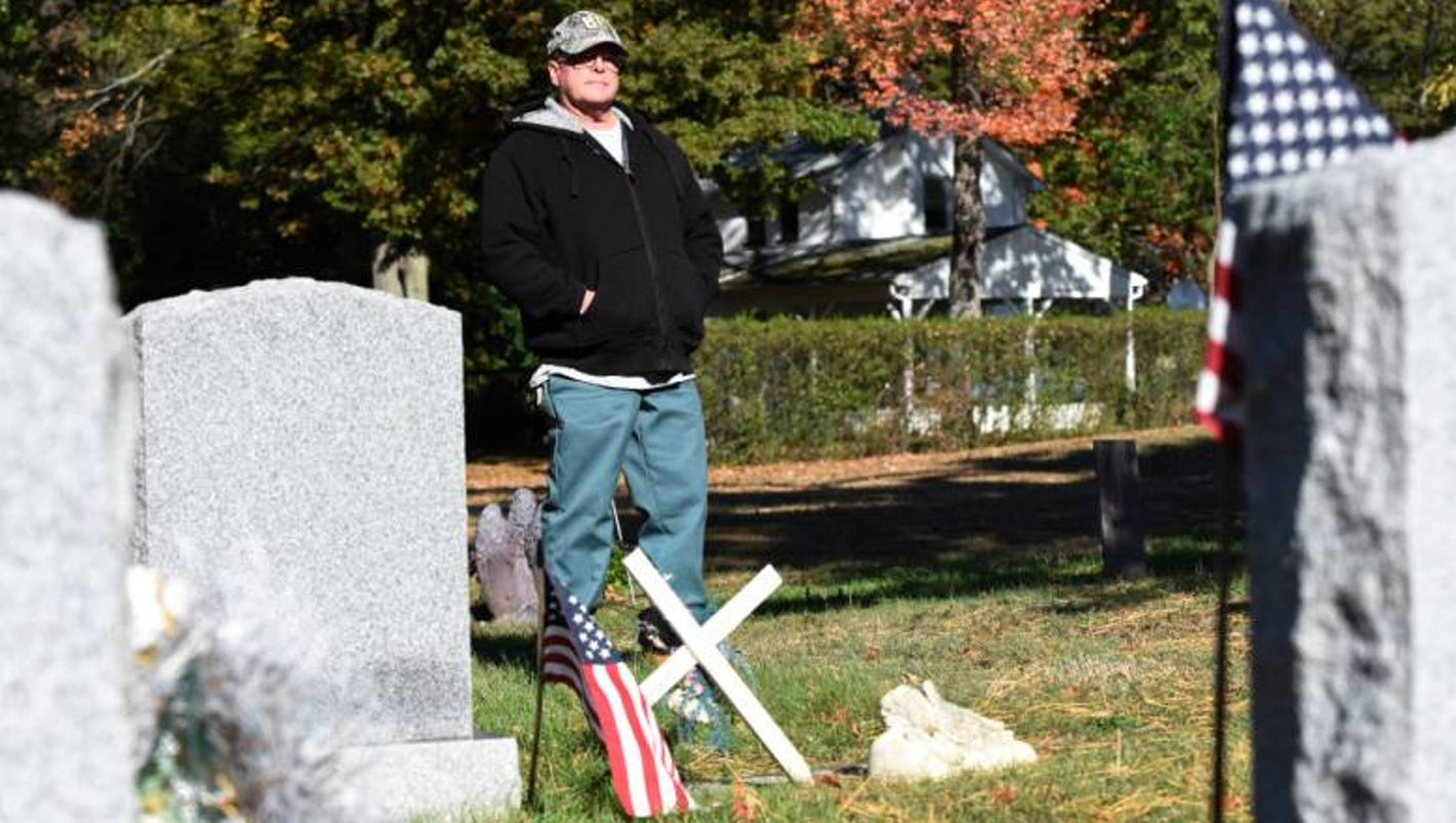 halloween usually quiet for nj family living at cemetery