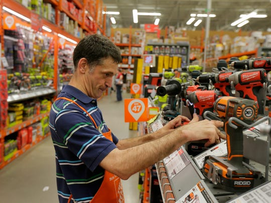 Home Depot employee Kevin Woolley, who has been on