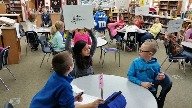 Fourth- through sixth-grade students at Madison Elementary School in Marshfield are pictured in this 2016 file photo.