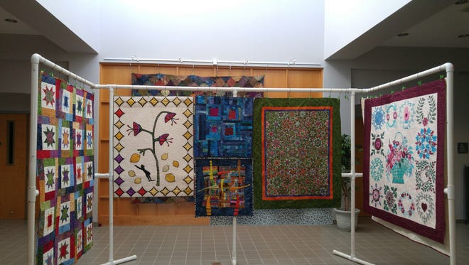 Prizes have been awarded in the Quilt and Textile Show hosted recently by the South Lyon Arts Commission.
