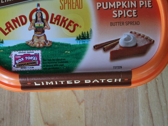 Land O Lakes Pumpkin Pie Spice Butter Spread