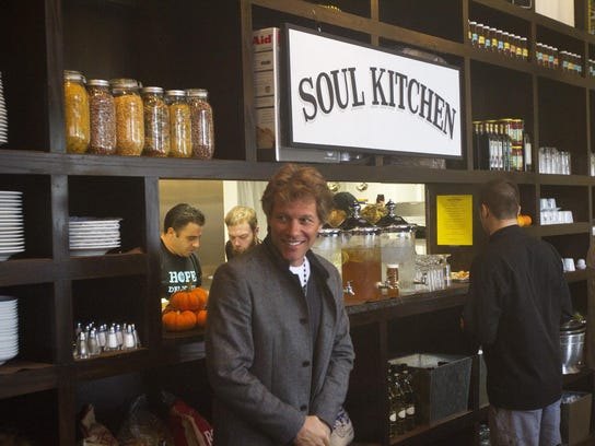 Jon Bon Jovi at the Soul Kitchen in Red Bank.