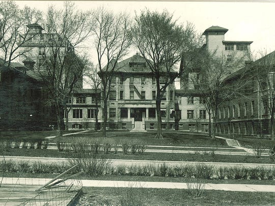 This image from 1920 shows what was then the University