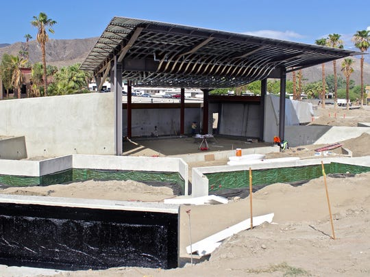 Although still unnamed, an amphitheater is among the facilities being added to Rancho Mirage Community Park.