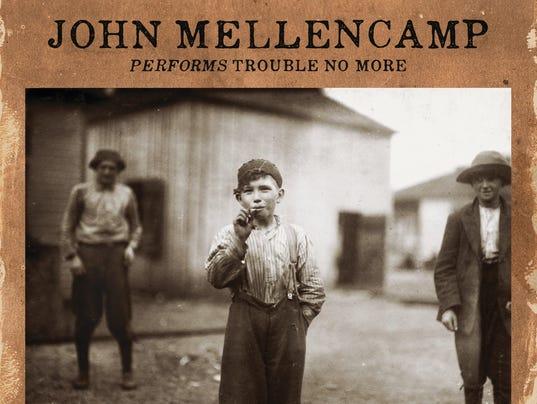John Mellencamp-Trouble No More Live-cover art