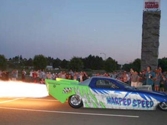 After a few years hiatus, the Night of Fire Car Show