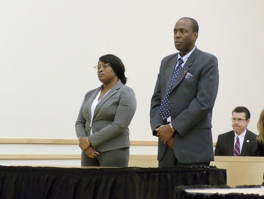 Depas & Fonvil in Court - screen grab from pool video