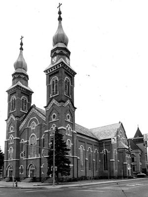 Holy Redeemer Church, 634 Hudson Ave., is seen in this 1985 file photo.