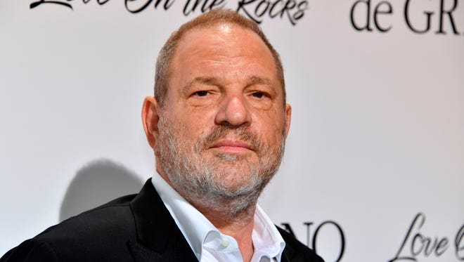 Harvey Weinstein on May 23, 2017 at Cannes Film Festival in France.