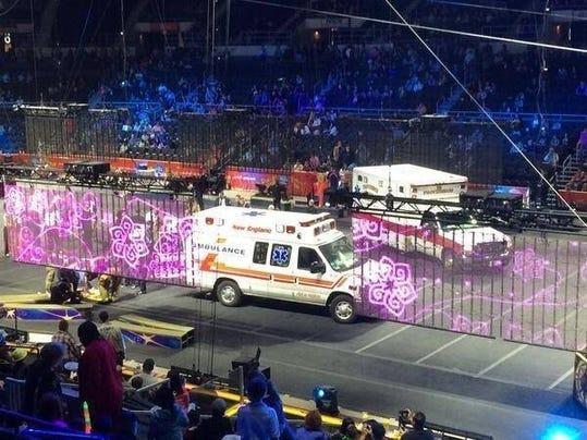 Circus-accident