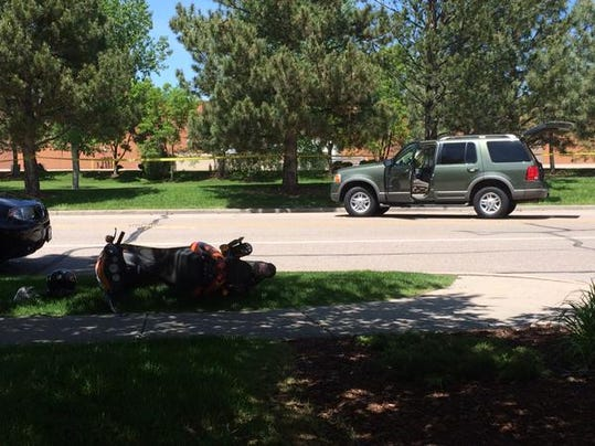 Moped Suv Collision Injures Two In Fort Collins