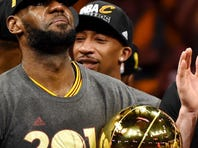 LeBron opts out of contract