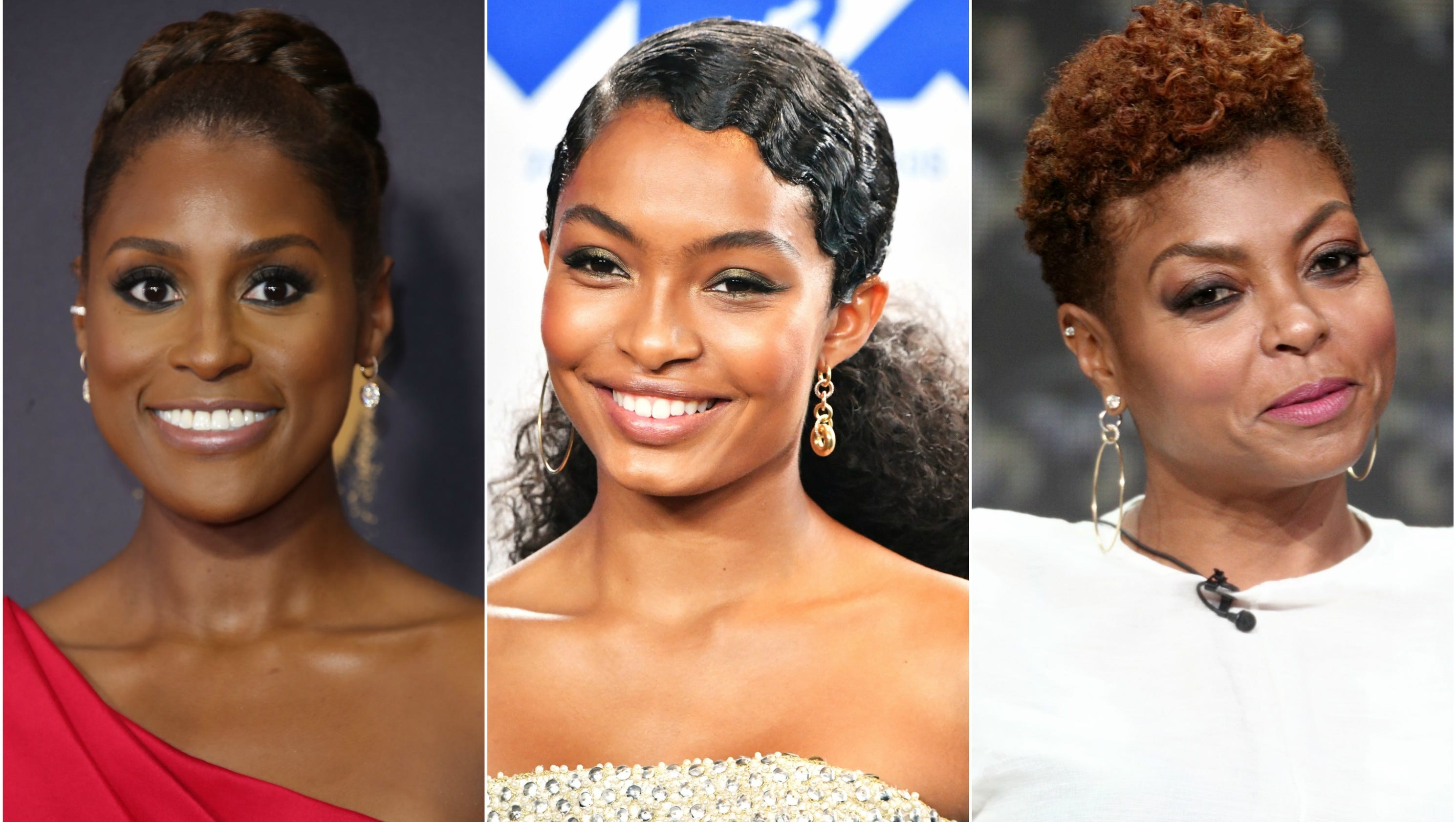 Style Natural Hair: Natural Hair Is Growing (and Glowing) In Hollywood And Beyond