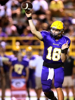 Smyrna senior quarterback John Turner has passed for 382 yards and five touchdowns over the Bulldogs' first two contests.