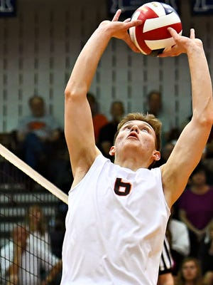 The return of setter Austin Richards gives Northeastern reason for optimism about the 2020 boys' volleyball season.