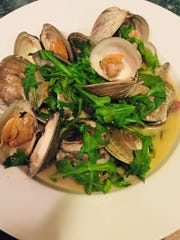 An order of clams from Gemelli Bistro & Pizzeria in