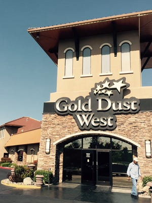 The Grille restaurant in the Gold Dust West Casino is open 24 hours daily. The restaurant is a popular late night-early morning breakfast spot.