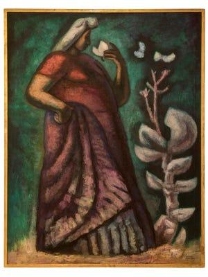 La Gran Tehuana (The Great Tehuana) 1963, by José Chávez Morado (1909–2002), Oil on canvas, Courtesy of Instituto Estatal de la Cultura de Guanajuato