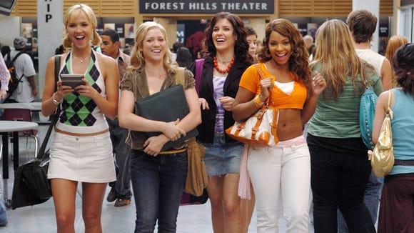 Arielle Kebbel, Brittany Snow, Sophia Bush and Ashanti