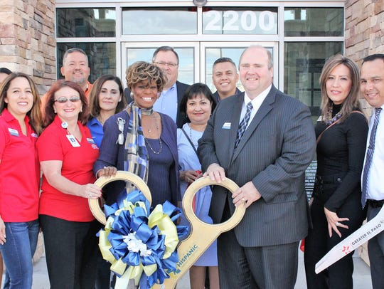 FirstLight Federal Credit Union officials celebrated