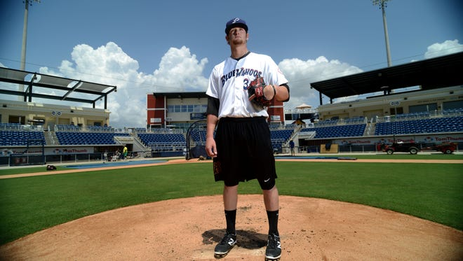 Gulf Breeze native Ben Lively is set to pitch for the Pensacola Blue Wahoos on Monday. He will be the first local player to joining the Blue Wahoos' roster.