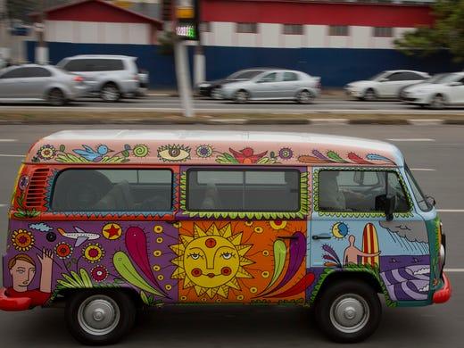 Long, strange trip ending for VW's hippie van