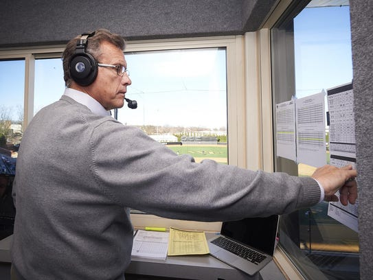 When he got back into the broadcast booth, Lary Sorensen