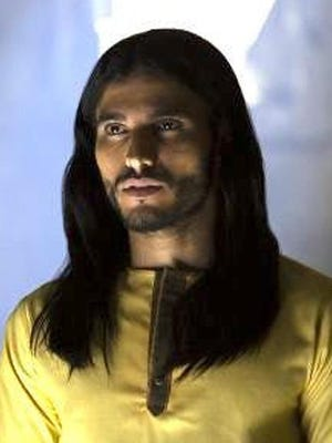 """Mehdi Dehbi stars as Al-Masih, a mysterious figure to whom miracles have been attributed in Netflix's """"Messiah."""""""