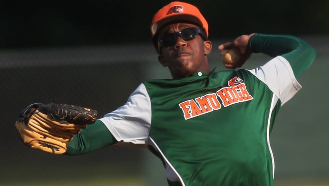 FAMU DRS sophomore pitcher Brian Green struck out 16 batters in a win over Gadsden County.