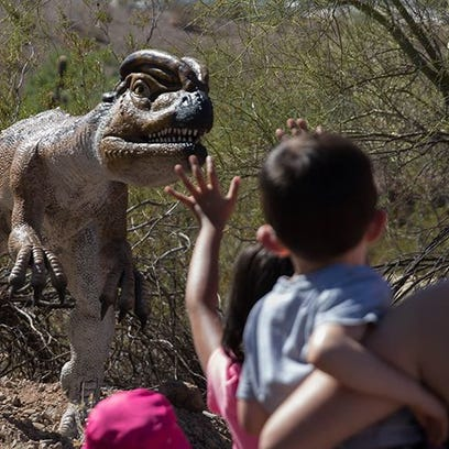 Family fun this weekend: 'Star Wars' in the park, dinos on display, Dia Del Ninos, vintage shopping