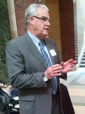 Former UW-Oshkosh Chancellor Richard Wells .