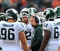 Dantonio was the featured speaker at a fundraiser ...