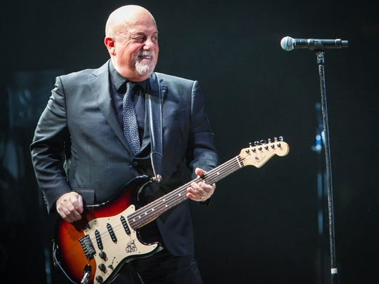 Billy Joel returned to Bankers Life Fieldhouse for a 2017 show.