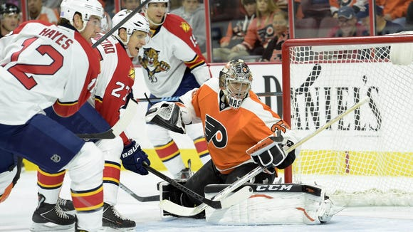 The Flyers beat the Panthers 4-1 in their last trip to Philly in early November.