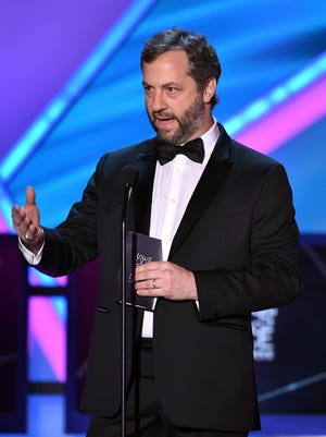 Producer/director Judd Apatow onstage during the 20th annual Critics' Choice Movie Awards at the Hollywood Palladium on Jan. 15, 2015 in Los Angeles.