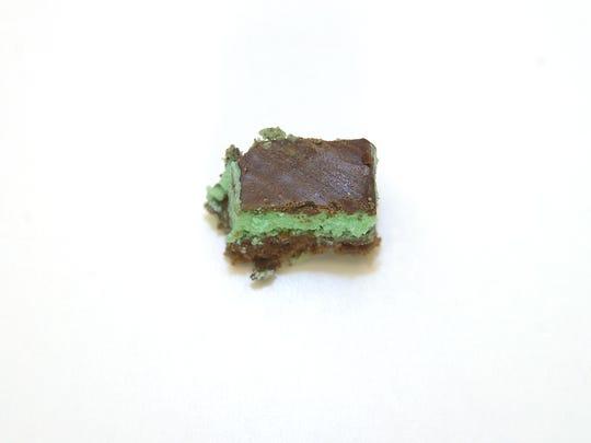 12 Days of Cookies: Creme de Menthe bars