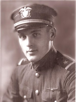 Milton Griswold was a naval aviation cadet studying engineering at UW-Madison when the Navy sent him to training after his junior year in 1918. He taught Navy pilots during World War I and after he returned home he believed UW would award him his bachelor's degree in mechanical engineering but the campus turned him down. He unsuccessfully petitioned to get his degree and died in 1954 heartbroken about not getting it. But on Saturday, May 14 his grandson will accept his degree at commencement after Griswold's granddaughter Loralee Kendall, which researching her master's degree, found documentation proving her grandfather earned his bachelor's degree.