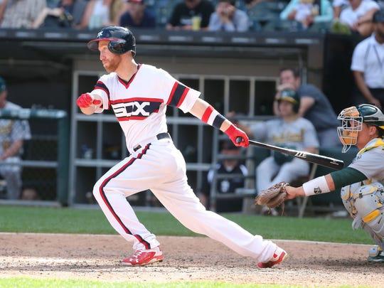 Jun 25, 2017; Chicago, IL, USA; Chicago White Sox third