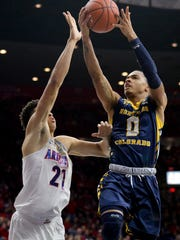 Nov 21, 2016: Northern Colorado Bears guard Jordan