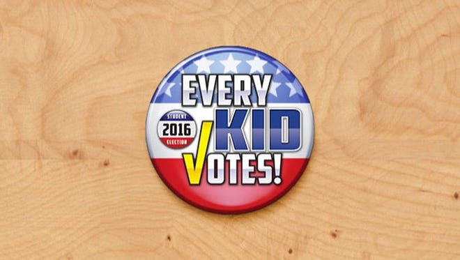Every Kid Votes button