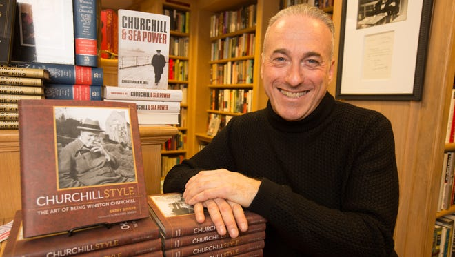 Author and bookstore owner Owner Barry Singer, of Chartwell Booksellers, in his midtown Manhattan shop.