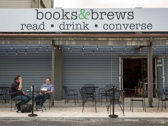 Books & Brews, which just recently opened at 2100 W. White River Blvd. The family friendly pub offers a wide selection of beer and food on top of a place to study, read and socialize.