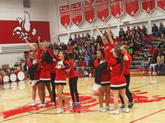 The City High Sparkles, a cheerleading team that combines