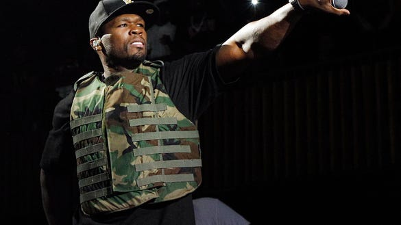 AP PEOPLE 50 CENT A FILE ENT USA TX