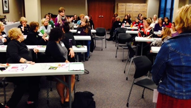 A previous discussion held by The West Chester-Liberty Chamber Alliance's Women 4 Women group.