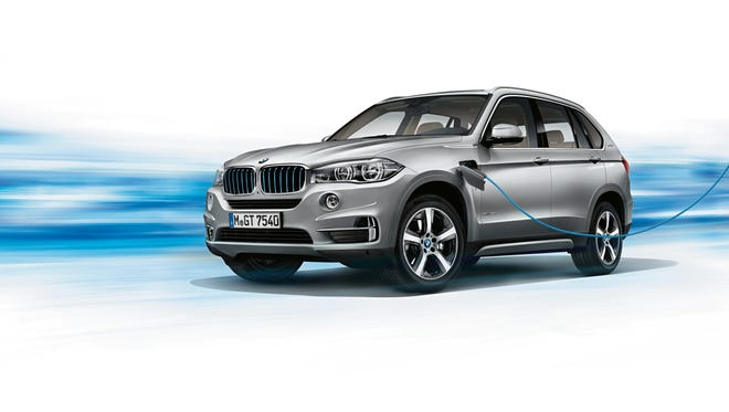 The BMW X5 iPerformance model is an electric-gas hybrid that is the top-selling hybrid in the world. It is produced at the BMW plant in Greer.