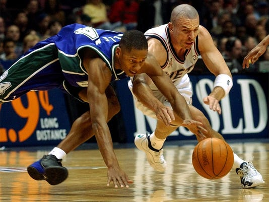 Ray Allen and Jason Kidd, Bucks vs. Nets