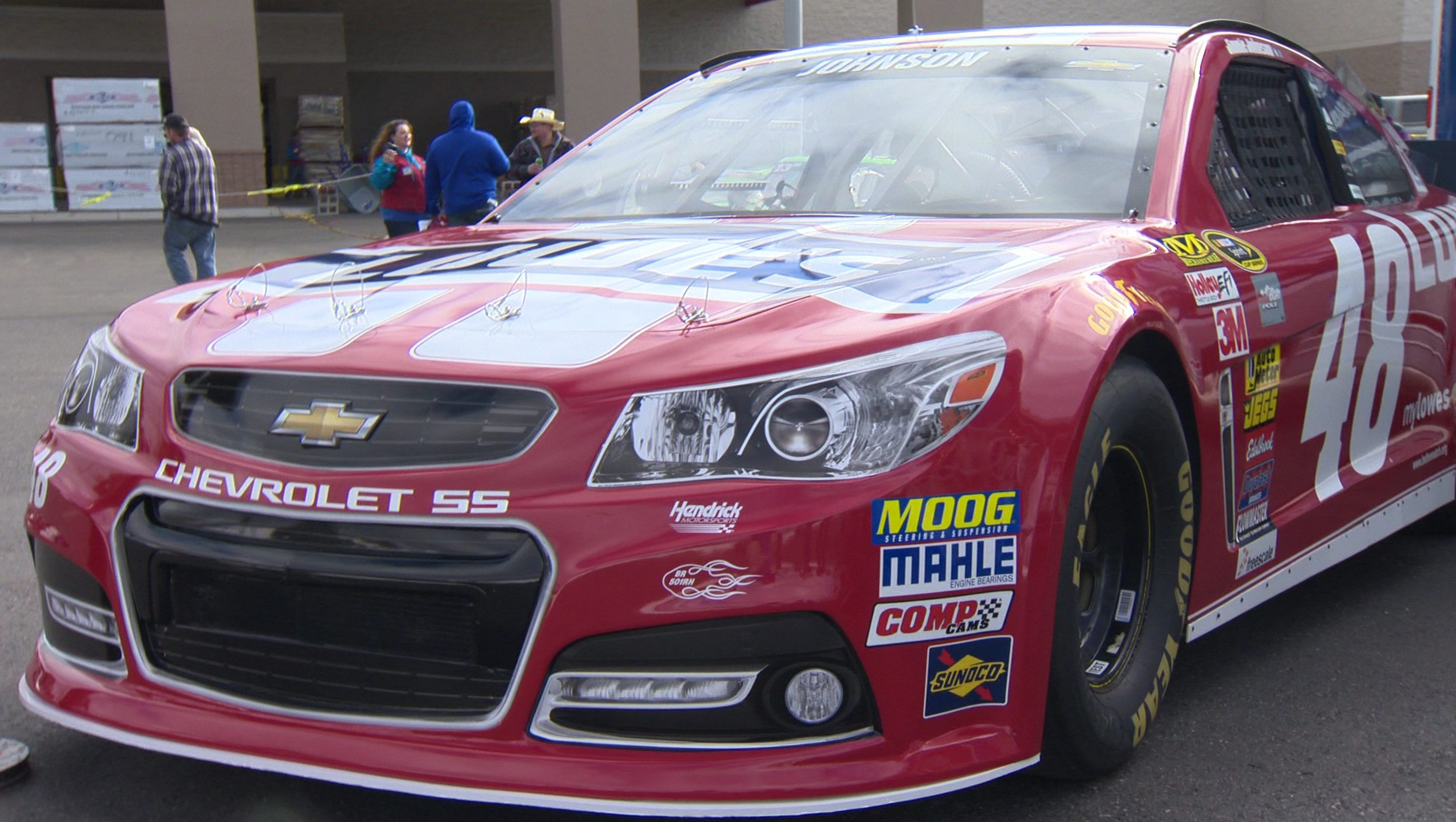 Jimmie Johnson 39 S Show Car In Twin Falls